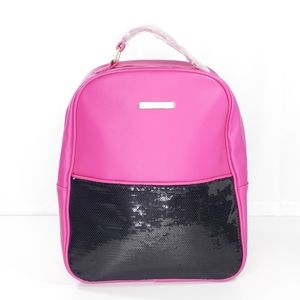 Juicy Couture Backpack Pink Black Bag NEW